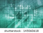 modern medical science... | Shutterstock . vector #145060618