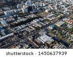 los angeles  california  usa  ... | Shutterstock . vector #1450637939