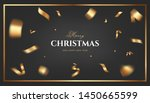 merry christmas vector design.... | Shutterstock .eps vector #1450665599