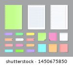 sticky notebook paper. adhesive ...   Shutterstock .eps vector #1450675850
