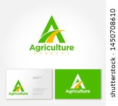 agriculture company logo. a... | Shutterstock .eps vector #1450708610
