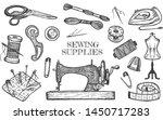 vector illustration of atelier... | Shutterstock .eps vector #1450717283