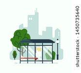 city mass transit system... | Shutterstock .eps vector #1450735640