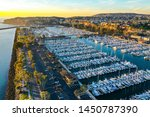 Sunset At Dana Point Harbor In...