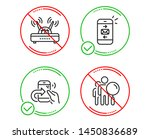 do or stop. mail  share call... | Shutterstock .eps vector #1450836689