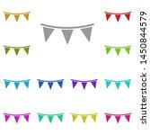 garland multi color icon....