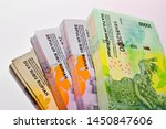 the rupiah  rp  is the official ... | Shutterstock . vector #1450847606