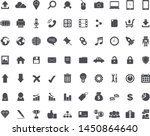 line web icon set on gray...