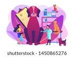 veterinary service  pharmacy... | Shutterstock .eps vector #1450865276