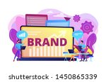 marketing and promotional... | Shutterstock .eps vector #1450865339