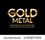 vector elite gold metal... | Shutterstock .eps vector #1450897850
