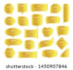quote gold frames textboxes... | Shutterstock .eps vector #1450907846