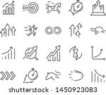 set of speed icons  such as... | Shutterstock .eps vector #1450923083