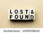 Letter Block In Word Lost  ...