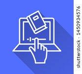 e learning education vector... | Shutterstock .eps vector #1450934576