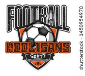 football hooligans spirit.... | Shutterstock .eps vector #1450954970