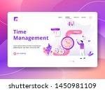 landing page time management...