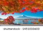 Maple Reefs And Mount Fuji From ...