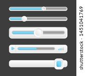 web buttons  vector interface...