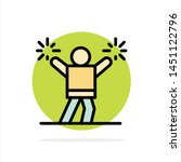 cheerleader  cheerleading ... | Shutterstock .eps vector #1451122796