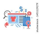 e commerce business concept ...