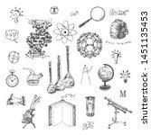 physics  chemistry  astronomy... | Shutterstock .eps vector #1451135453