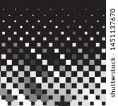 abstract halftone background... | Shutterstock .eps vector #1451137670