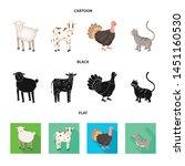 vector illustration of breeding ... | Shutterstock .eps vector #1451160530