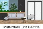 Garden Furniture On The...