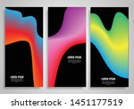 collection of banners with... | Shutterstock .eps vector #1451177519