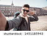 Attractive Young Tourist...