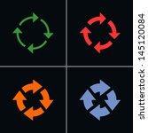 4 arrow sign reload rotation...