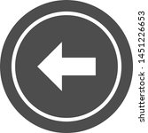 left  icon in trendy style... | Shutterstock .eps vector #1451226653