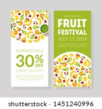 fruit festival banner template  ...   Shutterstock .eps vector #1451240996