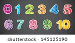 illustration of the eleven... | Shutterstock .eps vector #145125190