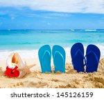 Flip Flops  Seashell And...
