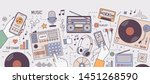 Colorful Horizontal Banner Wit...