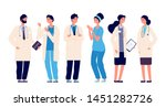 doctors team. medical staff... | Shutterstock .eps vector #1451282726