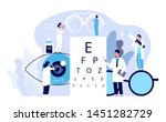 ophthalmology concept.... | Shutterstock .eps vector #1451282729
