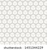 seamless geometric hexagonal... | Shutterstock .eps vector #1451344229