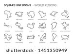 world regions related  square... | Shutterstock .eps vector #1451350949