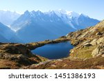 Lac Des Cheserys On The Famous...