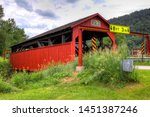 The Buttonwood Covered Bridge...