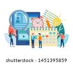 recruiting concept vector...   Shutterstock .eps vector #1451395859