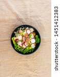 tuna fume of rice cook radish... | Shutterstock . vector #1451412383