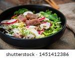 tuna fume of rice cook radish... | Shutterstock . vector #1451412386