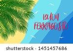 vector illustration for italian ... | Shutterstock .eps vector #1451457686