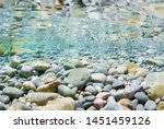 Sea Stones In The Sea Water And ...