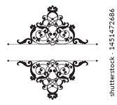 divider or frame in... | Shutterstock .eps vector #1451472686