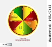 infographics design. vector   Shutterstock .eps vector #145147663